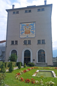 la fabbrica di Pedavena