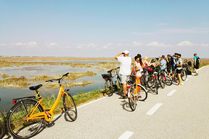Treviso Jesolo in bici