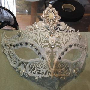 masque carnaval cours de fabrication