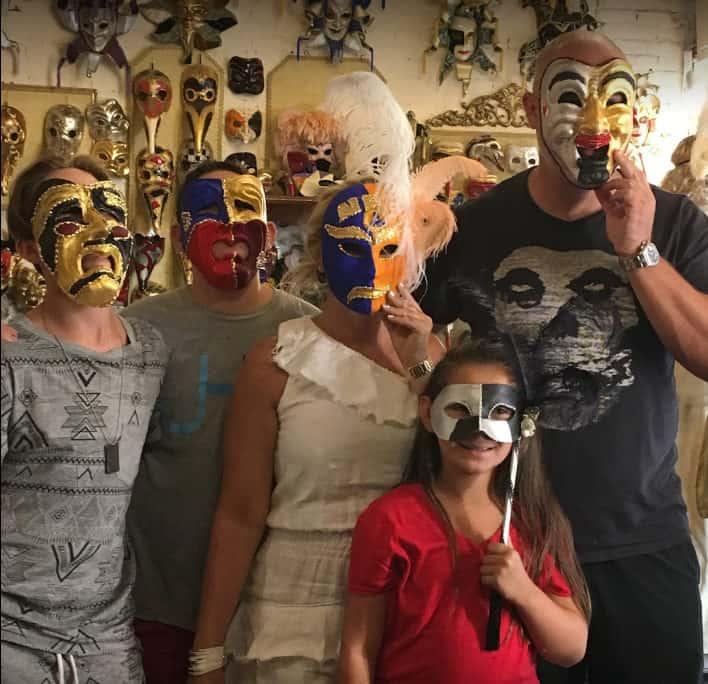 maschere carnevale venezia