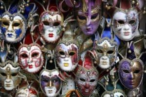 make carnival mask venice photo