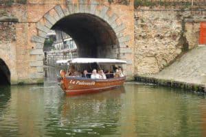 navigazione dei canali padova