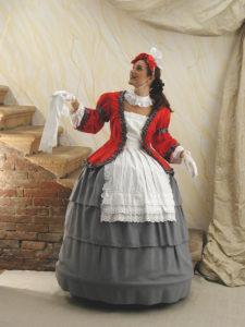 Noleggio Costumi Venezia. Colombina