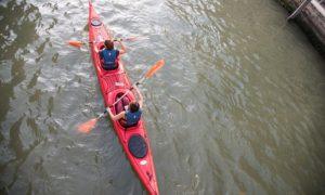 esperienza di kayak a venezia