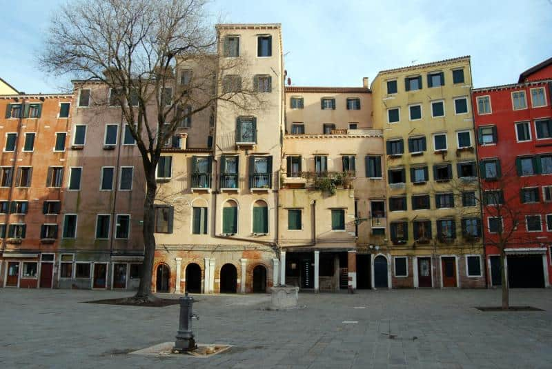 venezia ghetto ebraico foto
