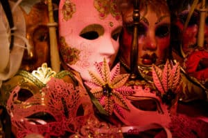 Carnival masks photo