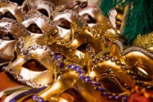 Carnival Masks Venice Italy photo