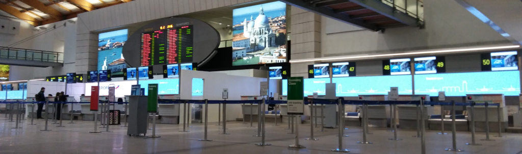 Aeroporto Marco Polo. Venezia