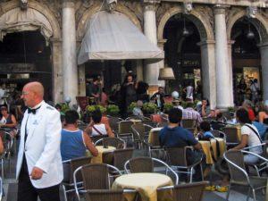 Ristorante a Venezia in piazza San Marco