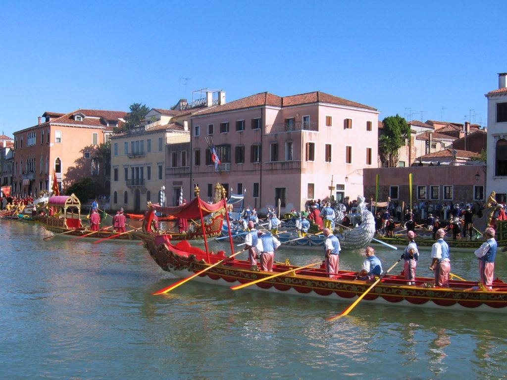 Venezia eventi. Regata storica