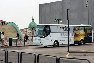 Arivare a Venezia da Treviso aeroporto con bus ATVO
