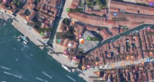 partenza meeting orienteering venezia