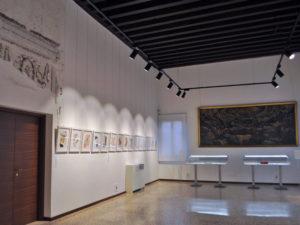 Scala Contarini del Bovolo. Sala del Tintoretto