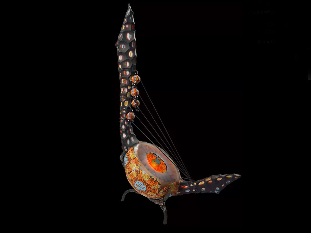 Opera d`arte del vetro di Murano