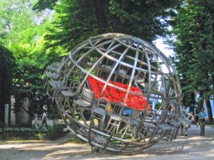 Venezia. Giardini della Biennale