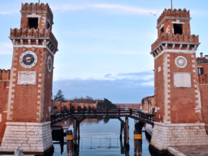 Venezia luoghi di interesse. Arsenale