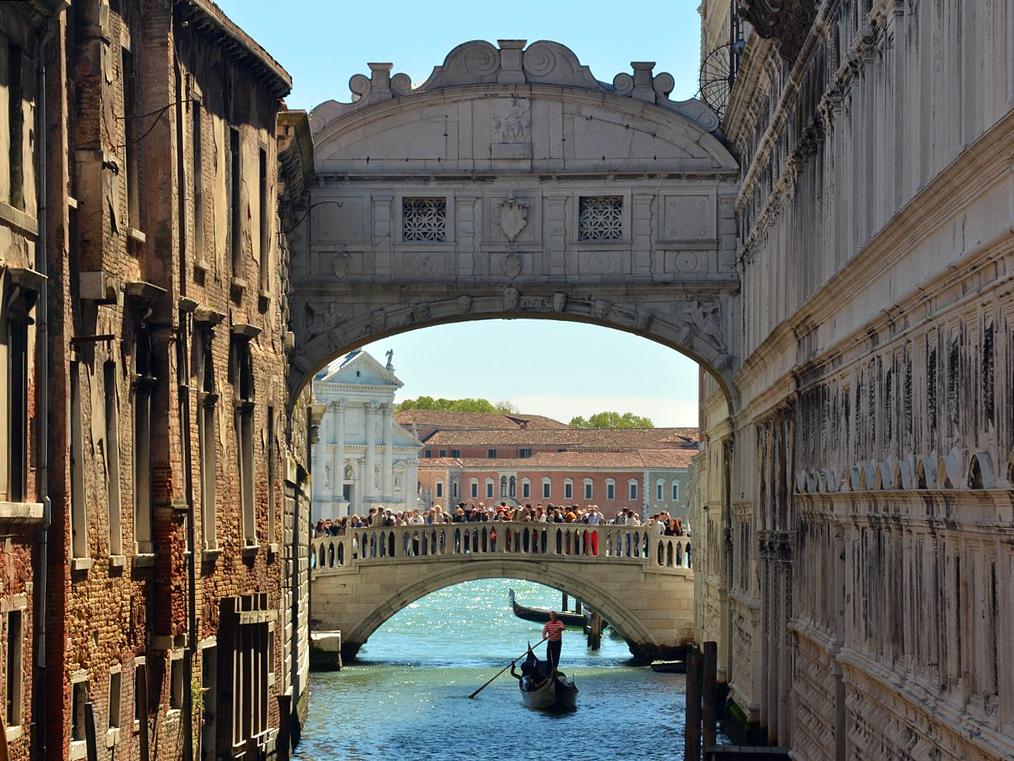 Venezia. Luoghi di interesse. Ponte dei Sospiri