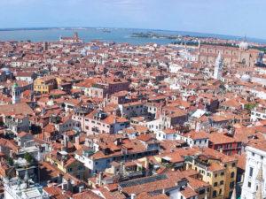 Vista panoramica sui luoghi di interesse Venezia