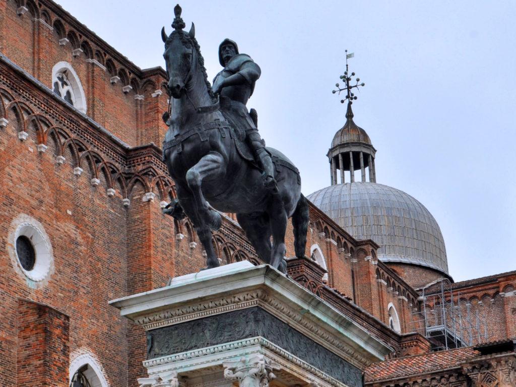 Venezia. Monumento Bartolomeo Colleoni