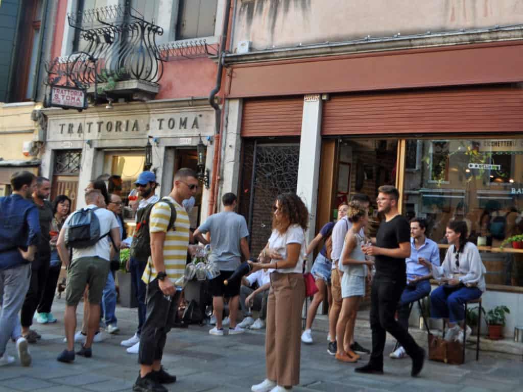 Aperitivi al bacaro. Venezia