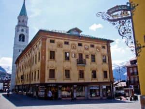 Cortina D'Ampezzo à Belluno, Vénétie