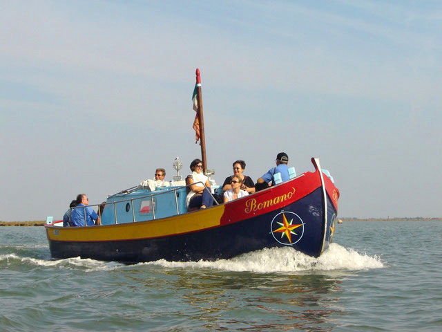 Eventi Veneto. Gita in barca in laguna