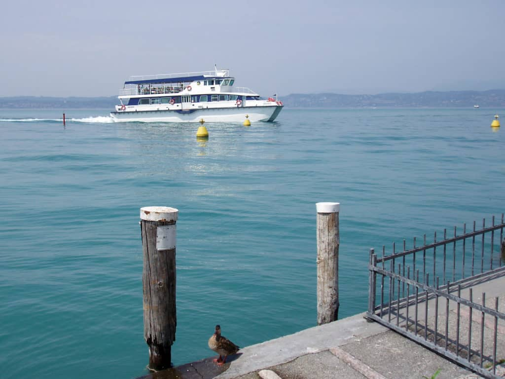 Vedere lago di Garda in tour