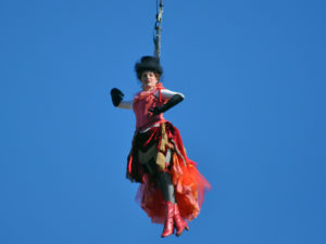 Венецианский карнавал. Полет ангела