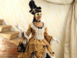 Венецианский карнавальный костюм 18 века