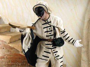 Венецианский карнавальный костюм комедии дель арте