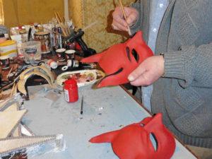 mask making venice photo
