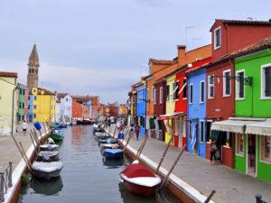 Цветные домики Бурано