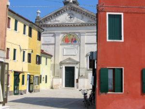Pellestrina. Chiesa di Santo Stefano. Portosecco