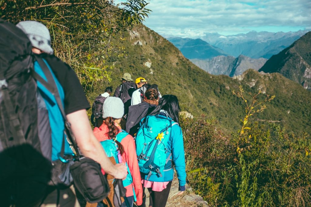 Viaggio di gruppo montagna