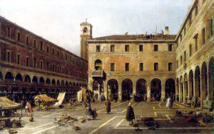 venezia settecento rialto canaletto