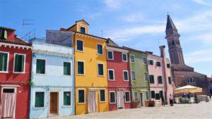 casette colorate di murano