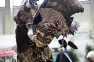 donna maschera carnevale