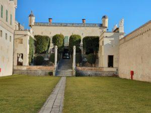 scalinata del castello del catajo