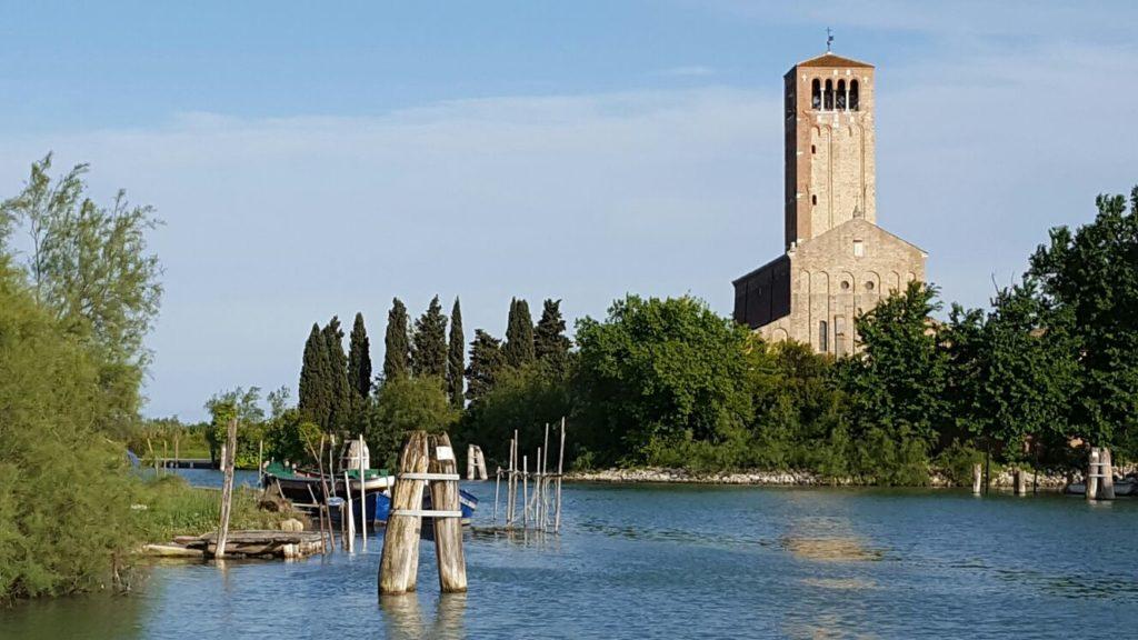 Torcello vista dal canale