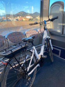 bici treno itinerario colli euganei