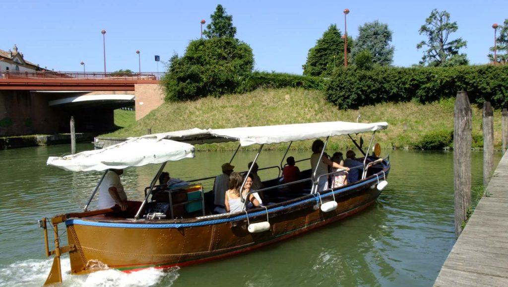 giro in barca padova