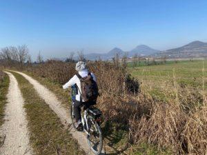 in bici itinerario montagnana colli euganei
