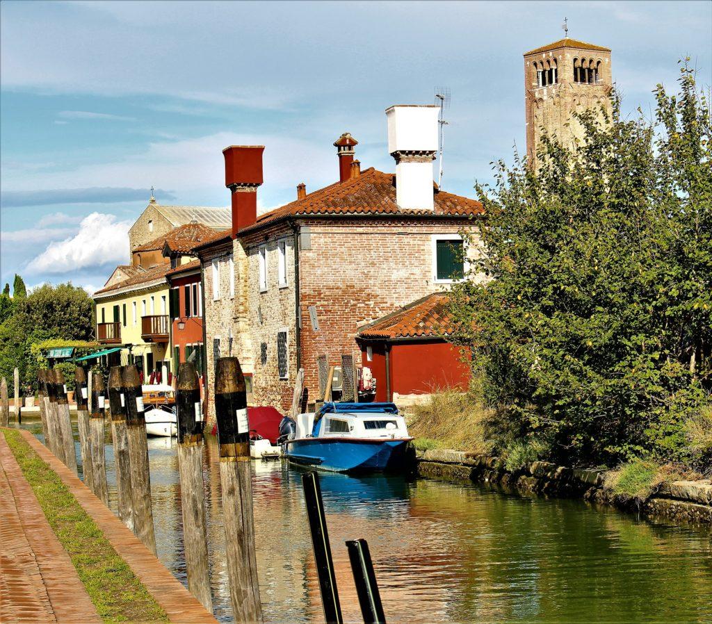 Canale nella laguna Veneta