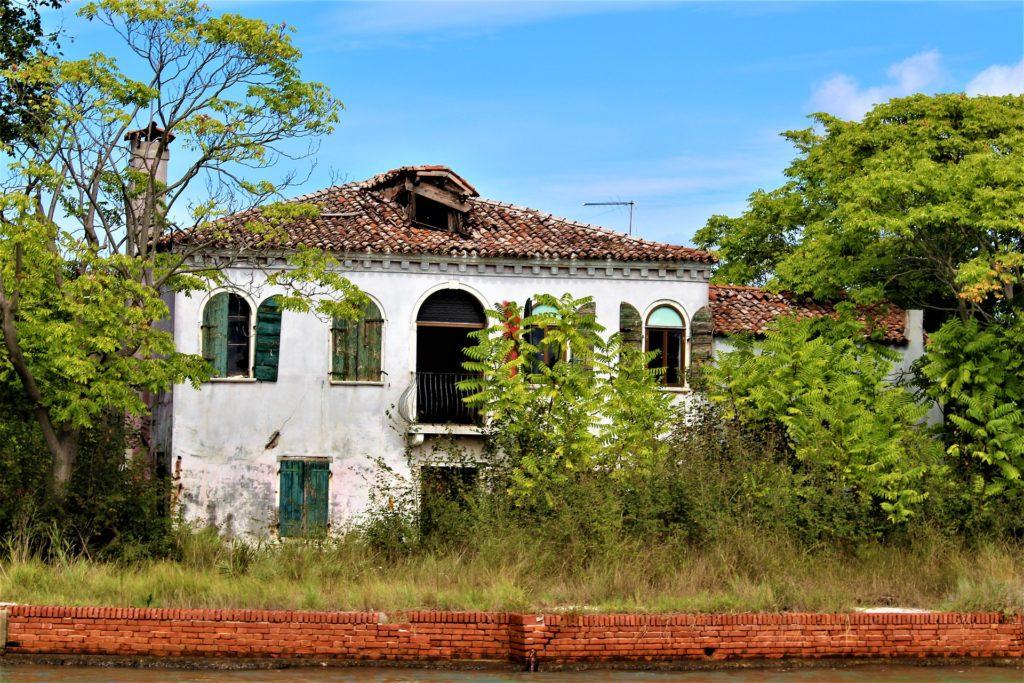 Casa nella laguna veneta