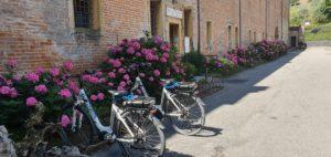abbazia praglia in bici