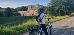 bici colli euganei castello del catajo