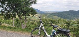 colli euganei in bici verso sud