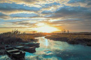 delta del Po in barca