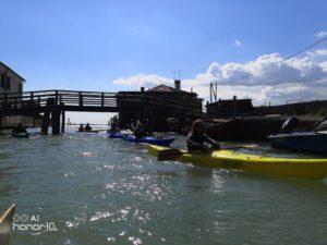 Kayak laguna di Venezia