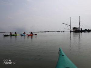 Kayak laguna veneta